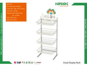 Retail Wire Snacks Supermarket Display Rack pictures & photos
