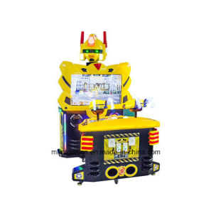 Shooting Video Game Yellow Robot Arcade Marchine Coin Operated pictures & photos