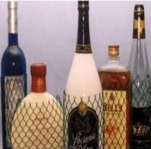 White Extruded Wine Bottle Protection Net