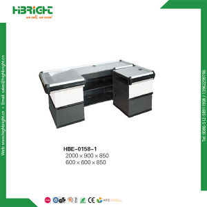 Grocery Shops Checkout Counter with Belt for Stores pictures & photos