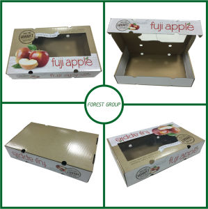 Corrugated Cardboard Fruit Box (FP7064564568) pictures & photos
