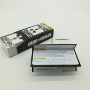 Printing Your Logo Custom Advertisement Game Card with Poker Box Packaging Yh356 pictures & photos