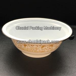 Semi Automatic Plastic Bowl Sealing Machine pictures & photos