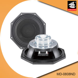8 Inch Professional MID-Range Woofer Speaker MD-0808ND pictures & photos