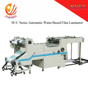 Sf-1100c Series Automatic Water-Based Film Laminator pictures & photos