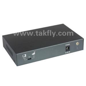 100m Single Mode Single Fiber Sc20km 4 Ports Poe Network Switch pictures & photos