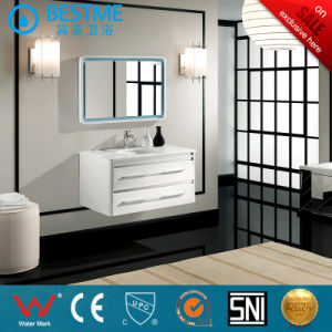 Bathroom Vanitay Cabinet in White Color Morden Sytle by-X7070 pictures & photos