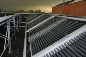 Compact Non Pressurized System Solar Water Heater pictures & photos