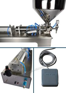 Semi-Automatic Filling Machine for Cream (G1WGD) 100-1000ml pictures & photos