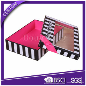 Luxury 2 Piece Lid-off Apparel/Bra Packaging Box for Gifts pictures & photos