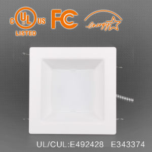 40W Square LED Down Light 8 Inch Recessed Installation pictures & photos