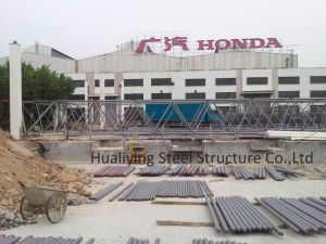 Space Frame Roofing with Large Span for Guangzhou Honda (Q235 or Q345) pictures & photos