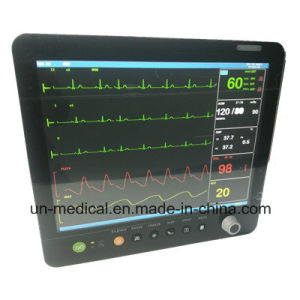 15 Inch Six Parameters Patient Monitor with Etco2 pictures & photos