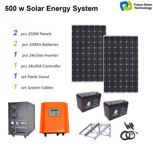 1kw off Grid Home Use Solar Power System pictures & photos