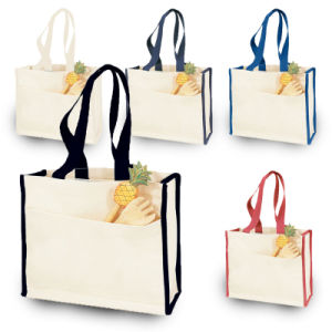 Foldable Fabric Recycle/Eco/Grocery Non Woven Tote Gift Beach Shopping Canvas Cotton Bag pictures & photos