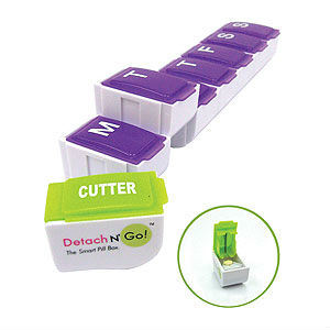 Travel 7 Day Pill Box Plastic Medicine Box Stationery pictures & photos