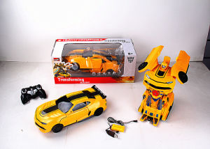R/C Deformation Robot Car with Light for Kids pictures & photos