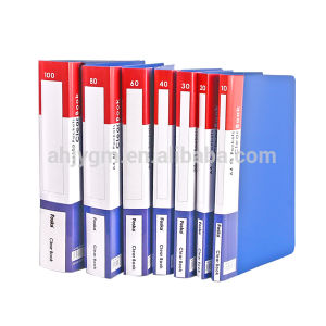 General Quality A4 PP Clear Book/A4 Display Book pictures & photos