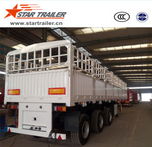 40FT Loss-Cargo Side-Fence Semi-Trailer pictures & photos
