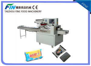 Flow Packing Machine for Bread, Soap, Commodity, Chocolate Ald-450f pictures & photos