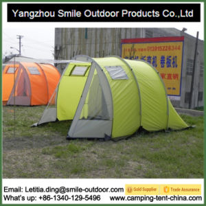 6 People Tunnel Family Large Camping Wedding Tent pictures & photos