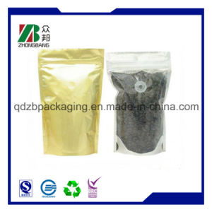 250g 500g 1kg Stand up Coffee Bag with Valve pictures & photos