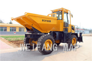 10ton Site Dumper Fcy100, Dumper Truck pictures & photos