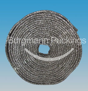 Braided Expanded Graphite Tape with Inconel Rein