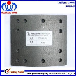 ISO Certification Semi Metal Non-Asbestos, Ceramic Material Brake Lining