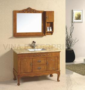 Classic Bathroom Vanity with Single Sink
