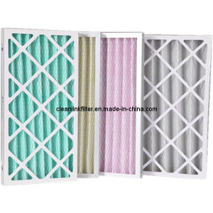 Factory Price Cardboard Pleated Air Filter pictures & photos