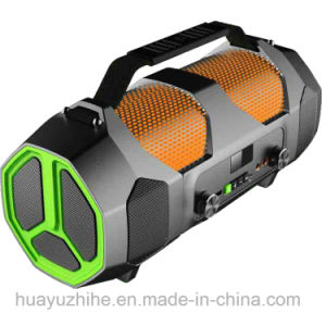 Outdoor Bluetooth Speaker with RGB Lighting, Support Microphone& Guitar Input pictures & photos