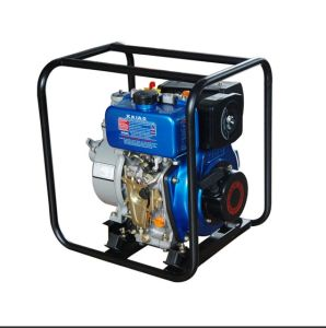 4′′ Portable Diesel Water Pump Aluminium KDP40 pictures & photos