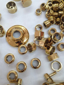 Hardware Door Fitting Handle Gold Rose Gold Blue Vacuum Plating Machine pictures & photos