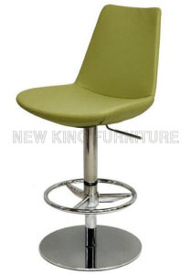Cheap Adjustable Bar Chair Colorful PU Soft Seat Bar Stool (NK-BCB007)