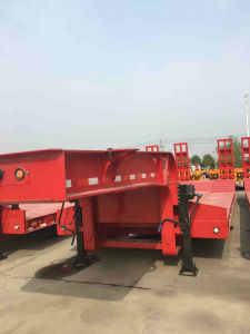 ISO CCC SGS Approved 3line 6axle Low Bed Semi Trailer pictures & photos