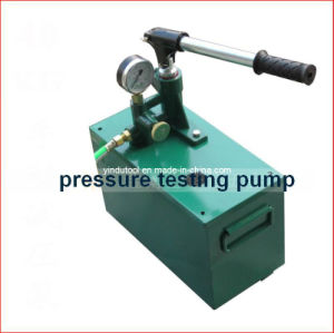 40kg Manual Water Pressure Test Pump (SYB-40) pictures & photos