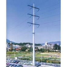 110 Kv Steel Power Transmission Tubular Tower pictures & photos