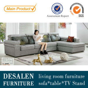 Modern Dubai Fabric Sofa with Adjustable Headrest (2039) pictures & photos