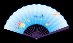 2017 Cheap Customizable Promotional Hand Fan pictures & photos