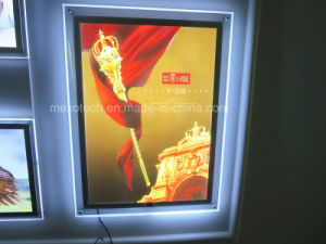 Wall Mounted Acrylic Slim Sensor LED Light Box pictures & photos