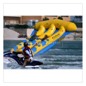 Durable PVC Tarpaulin Inflatable Aqua Flyfish Flying out of Sea