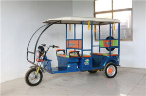 Electric Passenger Tricycle/Rickshaw pictures & photos