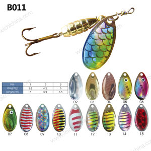 Wholesale Colorful Fishing Spinner Lure pictures & photos