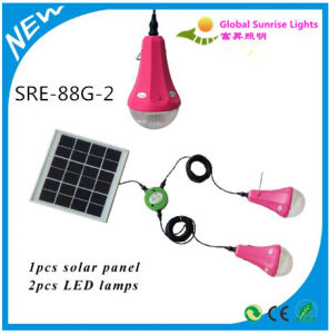 High Power Solar Rechargeable Bulb Solar Power System Mini Solar Energy 3 in 1 pictures & photos