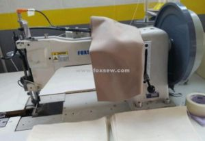 Extra Heavy Duty Top and Bottom Feed Lockstitch Sewing Machine pictures & photos