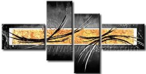 Huge Wall Decor Abstract Oil Painting on Canvas Art (XD4-215) pictures & photos
