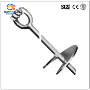 Forged Galvanized Ground Screw Anchor with Helix pictures & photos