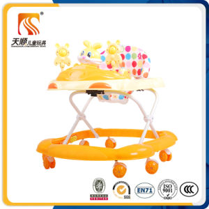 Plastic Kids Children Toys 8 Wheels Baby Walker with Musics pictures & photos