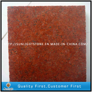 Cheap Polishing G657 Dyed Red Granites for Floor/Wall Tiles pictures & photos